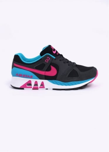 Nike Footwear Air Stab Trainers - Black / Hot Pink / Anthracite