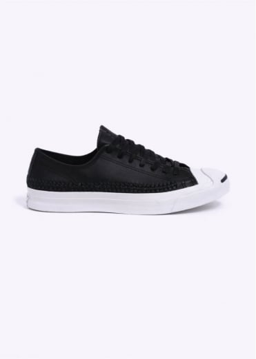 Converse Jack Purcell Woven Ox - Black / White