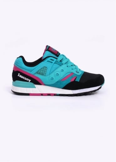 Saucony Grid SD Games Trainers - Teal / Black