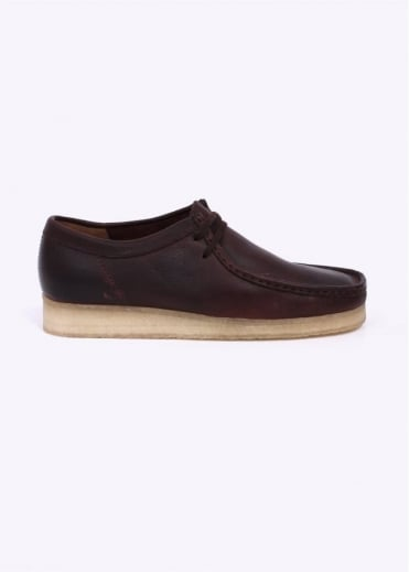Clarks Originals Wallabee Leather Shoes - Brown