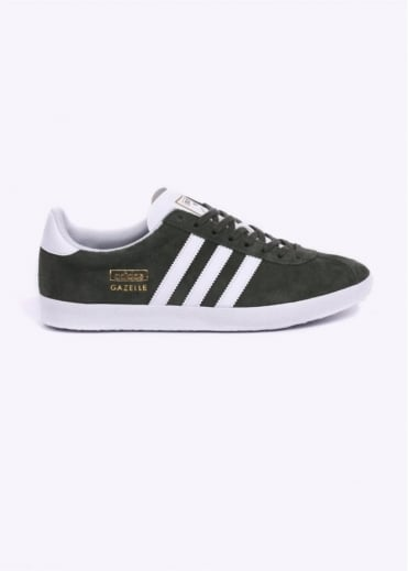 Adidas Originals Footwear Gazelle OG Trainers - Base Green