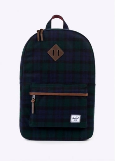 Herschel Supply Co. Heritage Backpack - Black Watch Plaid
