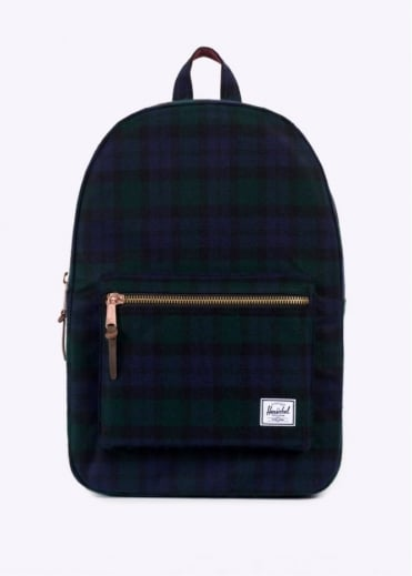 Herschel Supply Co. Select Series Settlement Backpack - Black Watch Plaid