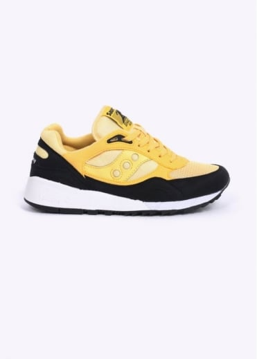 Saucony Shadow 6000 Trainers - Yellow / Black