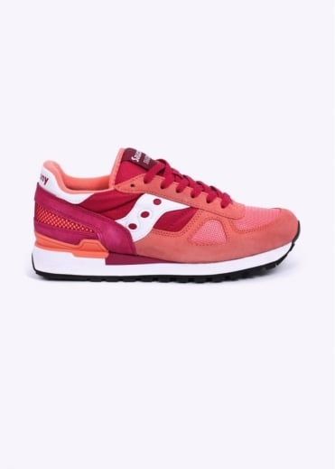 Saucony Shadow Original Trainers - Pink / Red