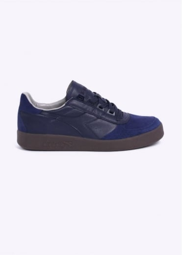 Diadora Borg Elite S 'Made in Italy' Trainers - Deep Blue
