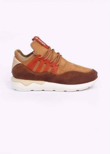 Adidas Originals Footwear Tubular Moc Runner Trainers - Mesa / Red