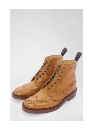 Trickers Stow Brogue Boot Acorn