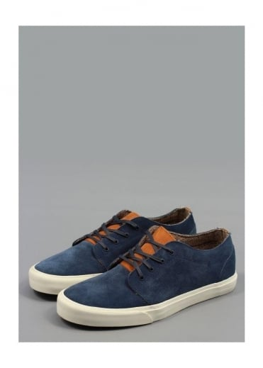 Vans 106 Vulcanized Suede Shoes - Dress Blue