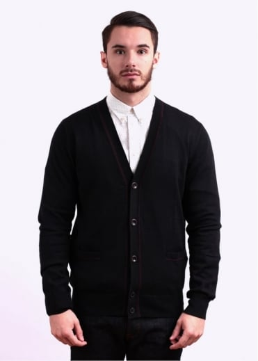 Paul Smith Jeans Button Cardigan - Black