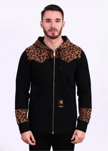 Carhartt Long Sleeve Leopard Hoody - Black