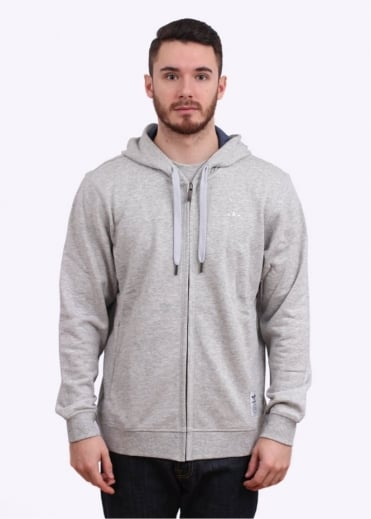 Adidas Originals Apparel PE Zip Hoody - Light Grey