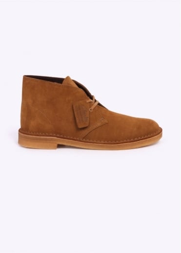 Clarks Originals Suede Desert Boot - Bronze / Brown