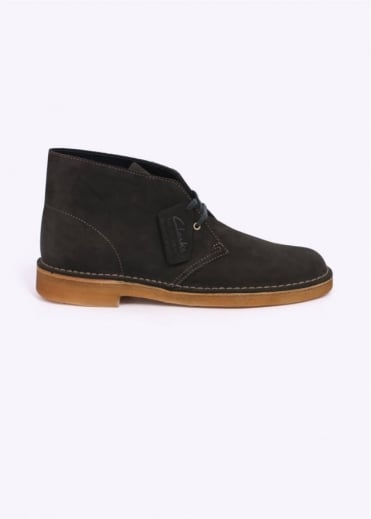 Clarks Originals Suede Desert Boot - Loden Green