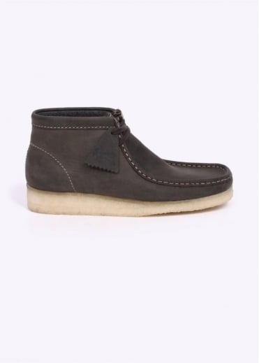 Clarks Originals Leather Wallabee Boot - Dark Green