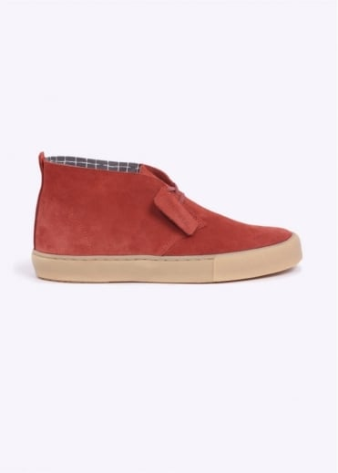 Clarks Originals Desert Vulc Shoes - Rust