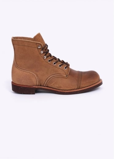 Red Wing Shoes 8113 Heritage Work Iron Ranger Muleskinner Leather Boots - Hawthorne