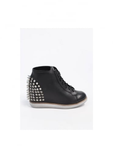 Jeffrey Campbell Edea Leather Boots - Black