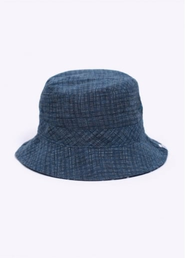 Norse Projects Reversible Discharge Bucket Hat - Dark Indigo