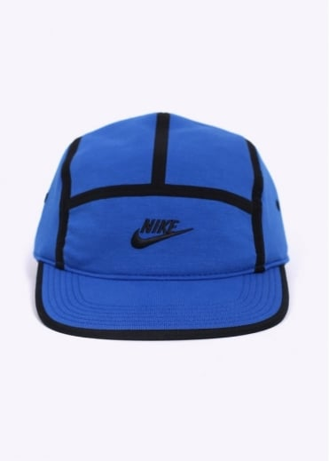 Nike Apparel AW84 5 Panel Tech Cap - Blue
