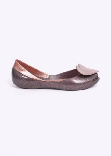 Vivienne Westwood Anglomania x Melissa Queen Speck Shoes - Rose