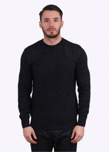 Barbour Abraham Crew Jumper - Navy