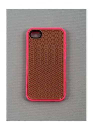 Vans iPhone 4 / 4S Sole Case Magenta Pink