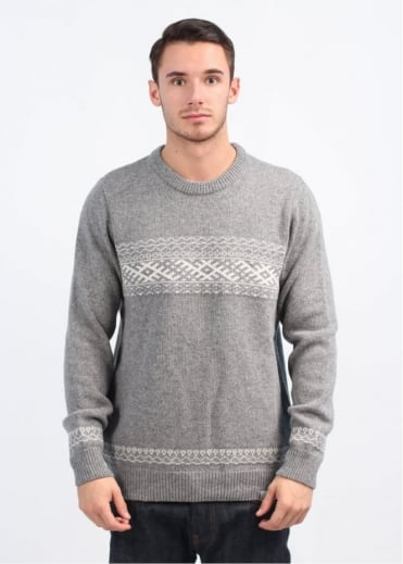 Carhartt Elias Long Sleeve Sweater - Grey