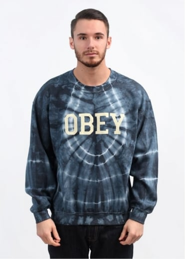 Collegiate Obey 2 Sweatshirt - Dark Indigo