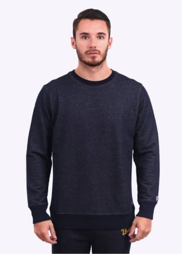Undefeated Chain Crewneck Sweater - Indigo