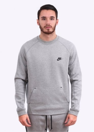 Nike Apparel Tech Fleece Crew Sweatshirt - Grey