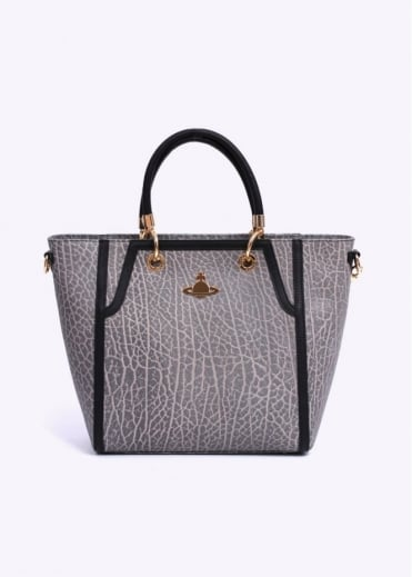 Vivienne Westwood Accessories Borsa Pelle Vitello Bag - Grey