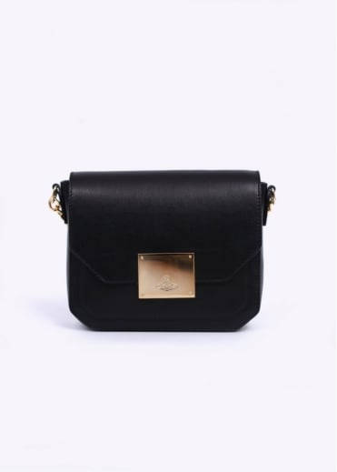 Vivienne Westwood Accessories Brompton Leather Bag - Black