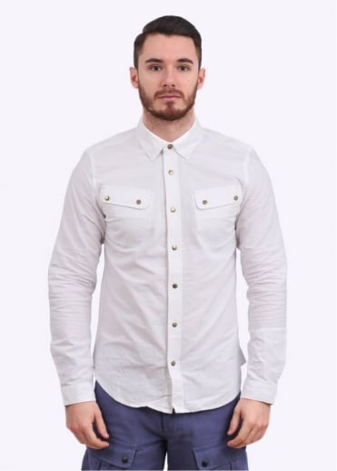 Barbour x White Mountaineering Mountain Shirt - White