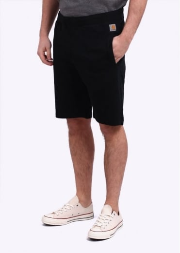 Carhartt Porter Sweat Shorts - Black