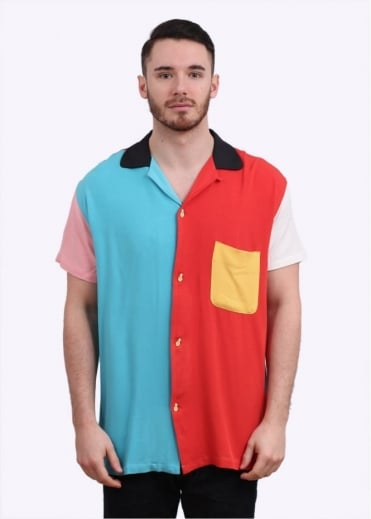 Levi's Vintage Clothing Rockets Bowling Shirt - Multi Coloured