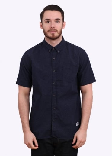 Penfield Samson SS Shirt - Navy Dot