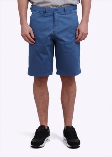Hugo Boss Green Liem 1-W Chino Shorts - Open Blue