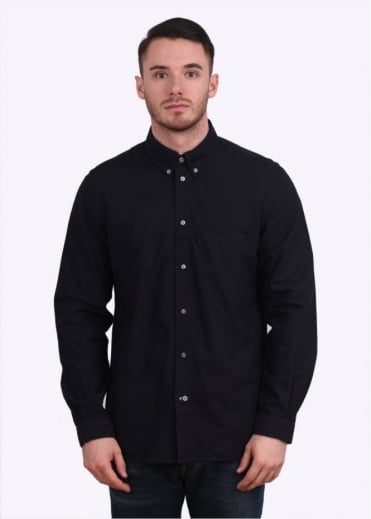 Paul Smith Jeans Long Sleeve Classic Fit Shirt - Navy