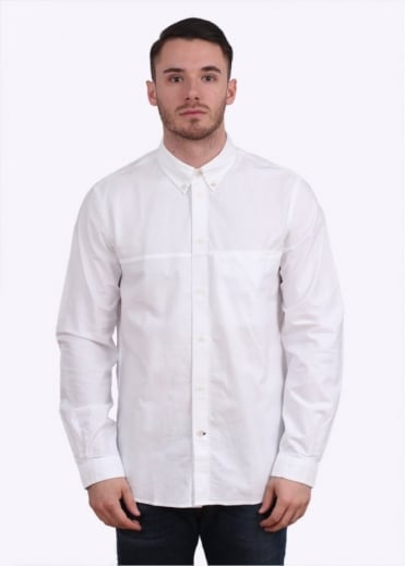 Paul Smith Jeans Long Sleeve Classic Fit Shirt - White