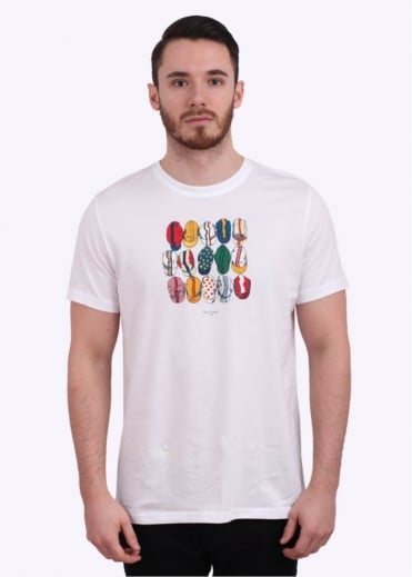 Paul Smith Jeans Casquettes Tee - White