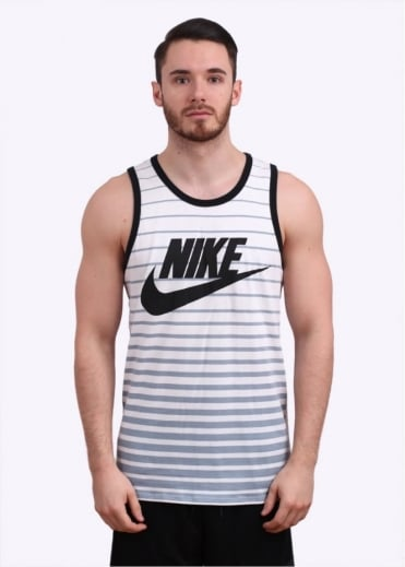 Nike Apparel Futura Tank Top - White / Grey