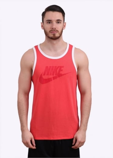 Nike Apparel Ace Tank Top - Light Red