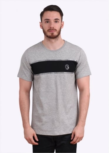 Billionaire Boys Club Fisk Short Sleeve Knit Tee - Heather Grey