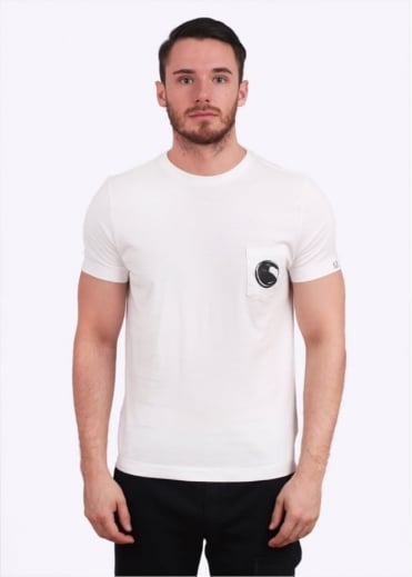 C.P. Company Pocket Tee - White