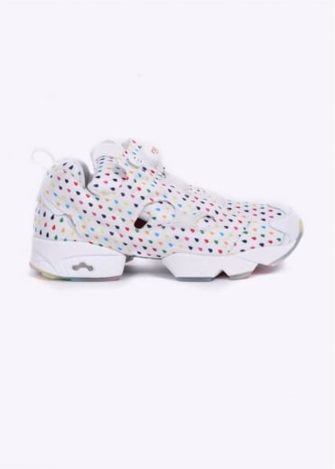 Reebok Instapump Fury OG 'Rainbow Pack' Trainers - White / Rainbow