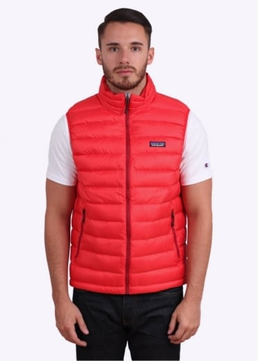 Patagonia Down Sweater Vest - French Red