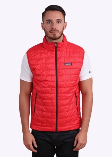 Patagonia Nano Puff Vest - French Red