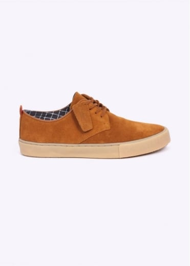 Clarks Originals Desert Vulco Low Shoes - Light Tan