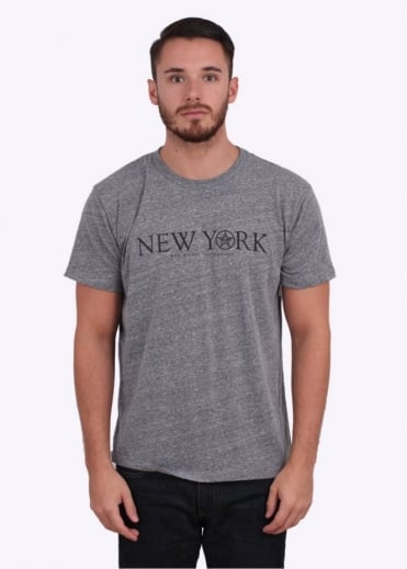 Obey Time Zone - New York Tri-Blend Tee - Heather